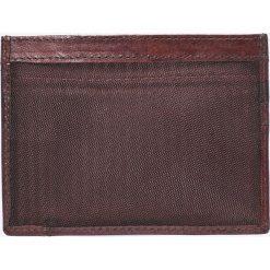 VIP COLLECTION - Portfel skórzany London. Brązowe portfele męskie marki VIP COLLECTION, z materiału. W wyprzedaży za 24,90 zł.