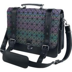 Banned Alternative Prism Holographic Torba kurierska standard. Szare torebki klasyczne damskie Banned Alternative, w paski, duże. Za 244,90 zł.