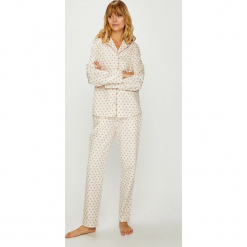 Triumph - Piżama. Szare piżamy damskie Triumph, z bawełny. Za 249,90 zł.