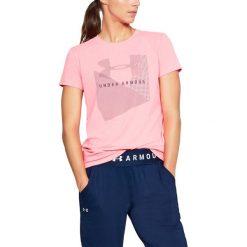 Bluzki asymetryczne: Under Armour Koszulka damska Sportstle Mesh Logo Crew różowa r. L (1310488-819)