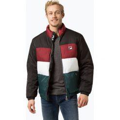 FILA - Męska kurtka pikowana, czarny. Czarne kurtki męskie pikowane marki Fila, m, retro. Za 579,95 zł.