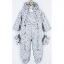 Kombinezon. Niebieskie kombinezony dziewczęce marki SPARKLE, z bawełny, długie. Za 239,90 zł.