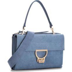 Torebka COCCINELLE - BD6 Arlettis Suede E1 BD6 12 01 01 Azur 021. Brązowe torebki klasyczne damskie marki Coccinelle, ze skóry. W wyprzedaży za 909,00 zł.