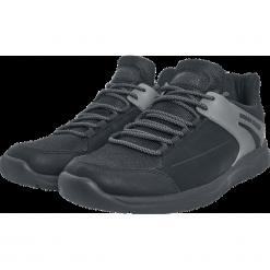 Urban Classics Trend Sneaker Buty sportowe czarny. Czarne buty sportowe męskie marki Urban Classics, z aplikacjami, z materiału. Za 99,90 zł.