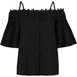 Bluzki asymetryczne: Navy London AMBA Bluzka black
