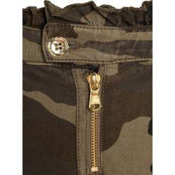 Sisley Jeansy Slim Fit khaki. Brązowe jeansy dziewczęce Sisley, z bawełny. W wyprzedaży za 126,75 zł.