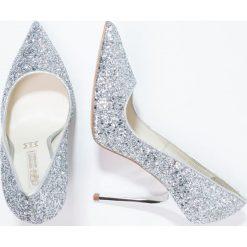 Szpilki: Buffalo Szpilki glitter silver