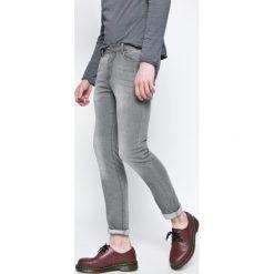Review - Jeansy Jeremy. Szare jeansy męskie skinny Review, z bawełny. W wyprzedaży za 119,90 zł.
