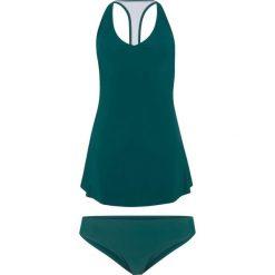 Tankini (2 części) bonprix niebieskozielony. Niebieskie bikini bonprix. Za 129,99 zł.