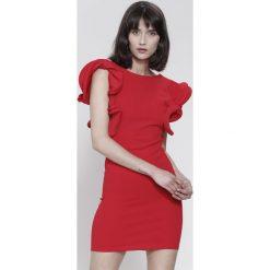 Czerwona Sukienka Mysterious Garden. Czerwone sukienki marki other, na lato, uniwersalny. Za 79,99 zł.