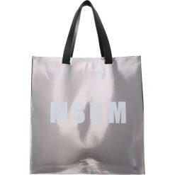 MSGM Torba na zakupy iron. Szare torebki klasyczne damskie MSGM. W wyprzedaży za 1026,75 zł.