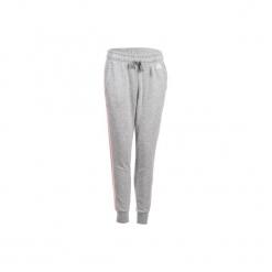 Spodnie dresowe Gym & Pilates 3S 500 damskie. Szare bryczesy damskie marki Adidas, s, z dresówki, na jogę i pilates. Za 199,99 zł.