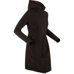 Płaszcz funkcyjny softshell bonprix czarny. Czarne płaszcze damskie pastelowe bonprix, m, z materiału. Za 239,99 zł.