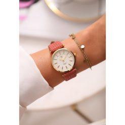 Zegarki damskie: Różowo-Złoty Zegarek Classic Timer