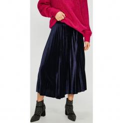 Medicine - Spódnica Vintage Revival. Czarne spódniczki dzianinowe marki MEDICINE, l, vintage, midi, plisowane. Za 119,90 zł.
