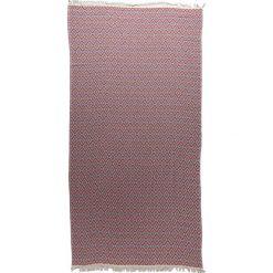 Kąpielówki męskie: Chusta hammam w kolorze różowo-błękitnym – 180 x 100 cm