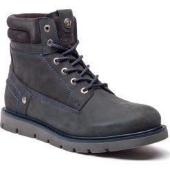 Kozaki WRANGLER - Tucson WM182010 Navy 16. Niebieskie buty zimowe męskie Wrangler, z materiału. W wyprzedaży za 309,00 zł.