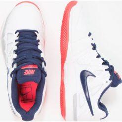 Buty sportowe damskie: Nike Performance AIR VAPOR ADVANTAGE  Obuwie do tenisa Outdoor white/binary blue/wolf grey/solar red