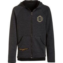 Bluzy męskie: Sisley HOOD Bluza rozpinana dark grey