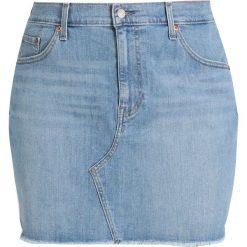 Spódniczki jeansowe: Levi's® Plus DECONSTRUCTED SKIRT Spódnica jeansowa honeyed indigo