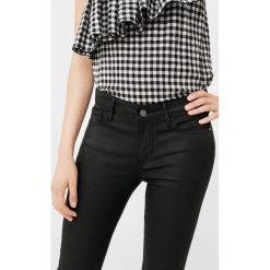 Mango - Jeansy. Czarne jeansy damskie Mango, z bawełny. Za 139,90 zł.