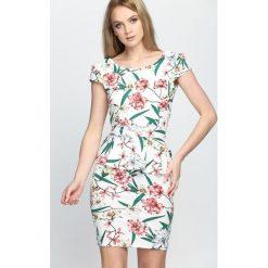 Biała Sukienka Hey Heaven!. Białe sukienki hiszpanki Born2be, na lato, l. Za 44,99 zł.