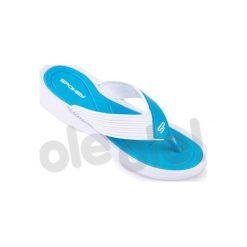 Chodaki damskie: Spokey Chillout – klapki basenowe damskie r.38 (niebiesko-biały)
