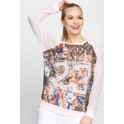 Bluzy damskie: Różowa Bluza Count