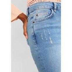 Dorothy Perkins FLORAL DARCY Jeans Skinny Fit stone blue denim. Niebieskie jeansy damskie Dorothy Perkins. Za 209,00 zł.