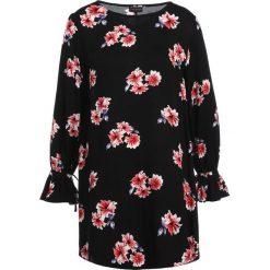 Sukienki hiszpanki: 12 Midnight ALINE TIE CUFFS Sukienka letnia black/red