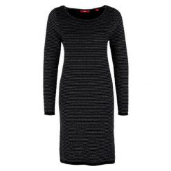 S.Oliver Sukienka 40 Czarna. Czarne sukienki balowe S.Oliver, s, midi. W wyprzedaży za 169,00 zł.
