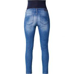 Noppies MACY Jeansy Slim Fit mid blue. Niebieskie rurki damskie Noppies. W wyprzedaży za 237,30 zł.