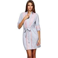 Szlafroki kimona damskie: Szlafrok w kolorze szarym