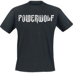 Powerwolf Logo T-Shirt czarny. Czarne t-shirty męskie z nadrukiem Powerwolf, s, z okrągłym kołnierzem. Za 54,90 zł.