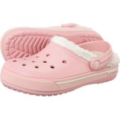 Buty dziecięce Crocband 2.5 Winter Clog pink/oatmeal r. 24-26. Różowe buciki niemowlęce marki Crocs. Za 99,64 zł.