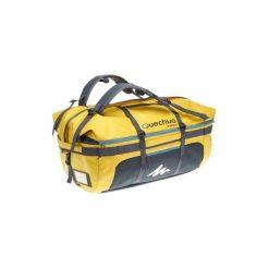 Torba TREKKING EXTEND 80 -120 l. Brązowe torebki klasyczne damskie marki QUECHUA, z motywem zwierzęcym, z materiału. Za 249,99 zł.