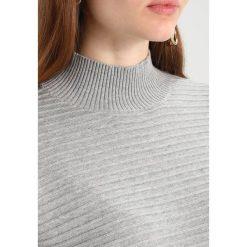 Swetry klasyczne damskie: b.young MIRIAM  Sweter light grey mel.