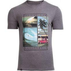 T-shirt męski TSM606 - średni szary melanż - Outhorn. Szare t-shirty męskie Outhorn, na lato, m, melanż, z bawełny. Za 39,99 zł.
