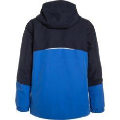 Jack Wolfskin ICELAND 2IN1 Kurtka hardshell coastal blue. Niebieskie kurtki chłopięce marki Jack Wolfskin, z hardshellu, outdoorowe. W wyprzedaży za 219,50 zł.