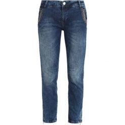Mos Mosh ETTA SHINE ZIP Jeansy Slim Fit blue denim. Niebieskie boyfriendy damskie Mos Mosh. W wyprzedaży za 421,85 zł.