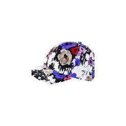 Czapka hauer BASEBALL FLOWERS. Czarne czapki z daszkiem damskie marki Hauer, z nadrukiem, z polaru. Za 49,00 zł.