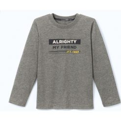 T-shirty chłopięce: T-shirt z napisem 3-12 lat