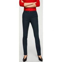Mango - Spodnie Flat. Szare rurki damskie Mango, z bawełny, z podwyższonym stanem. Za 119,90 zł.