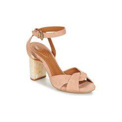 Sandały See by Chloé  SB30053. Czerwone sandały damskie See by Chloé. Za 1039,20 zł.