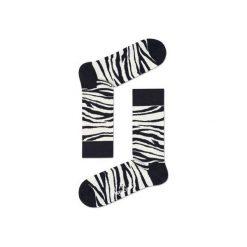 Skarpetki Happy Socks  ZEB01-1000. Czerwone skarpetki męskie Happy Socks, z bawełny. Za 24,43 zł.