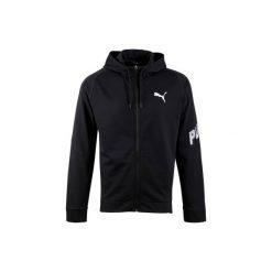 Bluza PUMA Active. Czarne bluzy męskie rozpinane marki Puma, m. W wyprzedaży za 99,99 zł.
