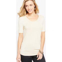 T-shirty damskie: T-shirt z miękkiej dzianiny