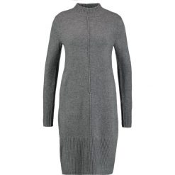 Sukienki dzianinowe: comma Sukienka dzianinowa dark grey melange