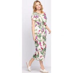 Sukienki: Kremowa Sukienka Visions