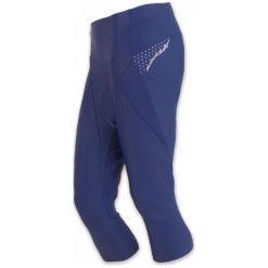Sensor Damskie Spodnie Rowerowe Z Nogawkami 3/4 Cyklo Race Blue. Niebieskie bryczesy damskie Sensor, z materiału. Za 167,00 zł.